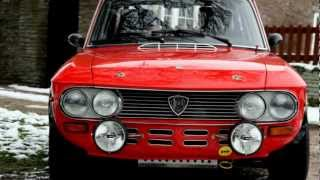 LANCIA FULVIA COUPE 1600 HF GROUP 4 FIA RALLY CAR 1972