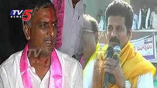 Narayankhed by-poll: War of words between Revanth Reddy and Harish Rao