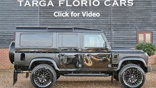 Kahn Design Land Rover Defender 110 6.2 V8 LS3 Engine and LS2 Automatic Gearbox