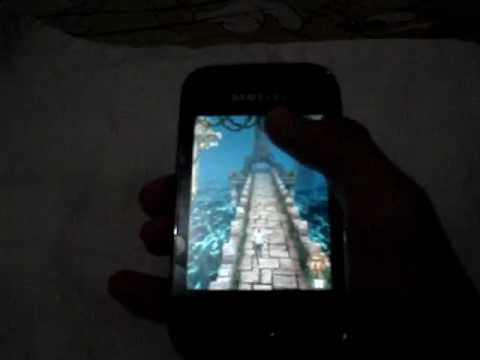 Temple Run for Galaxy Y (GT-S5360) - YouTube