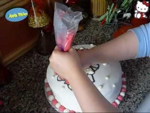 Assia Kitchen - Hello Kitty Cake