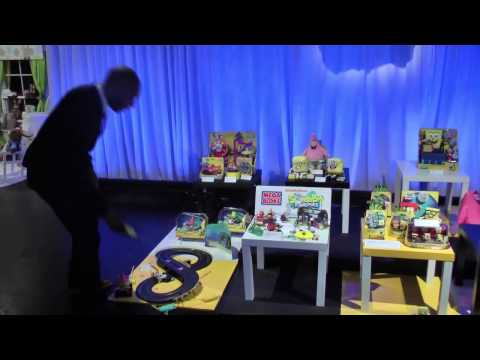 Toy Fair 2014: Nickelodeon Previews new SpongeBob SquarePants Toys for 2014