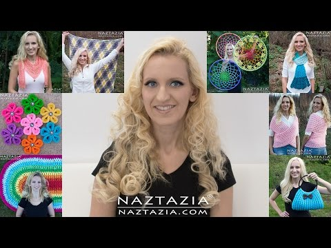 DIY Tutorial - What Would You Like To See -  Pattern & Video Recap - Donna Wolfe from Naztazia