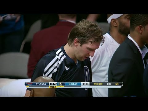 Dirk Nowitzki Full Highlights (Clutch Threes) vs Hawks - 24 Points (2013.10.30)
