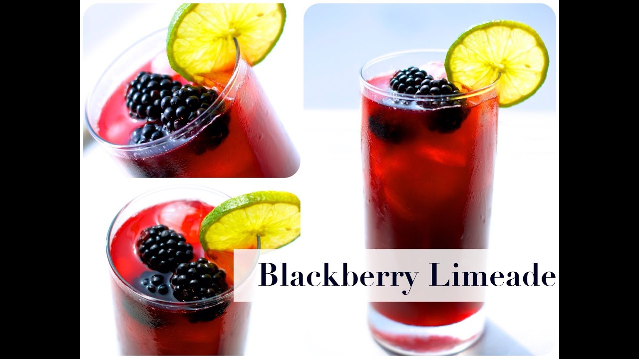Refreshing Blackberry Limeade! - YouTube