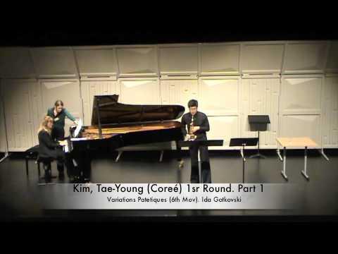 Kim, Tae Young Coreé 1sr Round Part 1