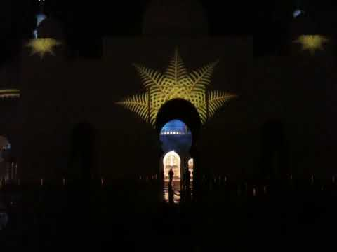 Sheikh Zayed Mosque Abu Dhabi 40th National Day 2/12/2011