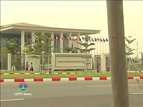 Lao NEWS on LNTV: Lao PM to attend the 24th Asean Summit in Myanmar.9/5/2014