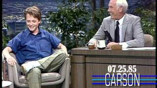 Johnny Carson: Michael J. Fox's First Appearance, 1985