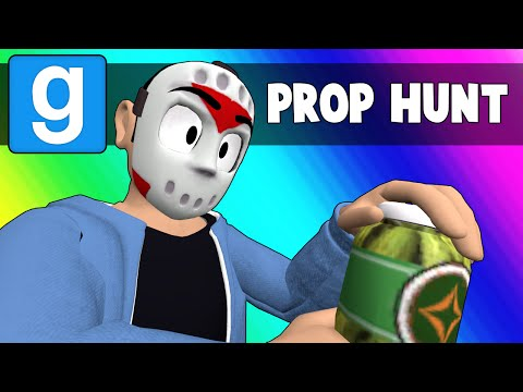 Gmod Prop Hunt Funny Moments  The Ambition is Real Garrys Mod