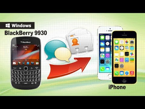[BlackBerry to iPhone]: How to Transfer Data from BlackBerry 9930 to iPhone 5S/5C/5/4S/4?
