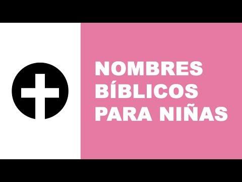 Nombres bíblicos para niñas