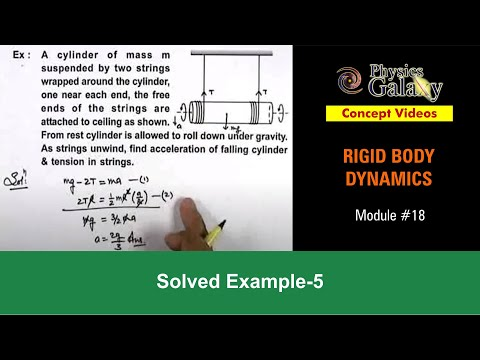Solved Example on Rotational Motion (ROT12X1)