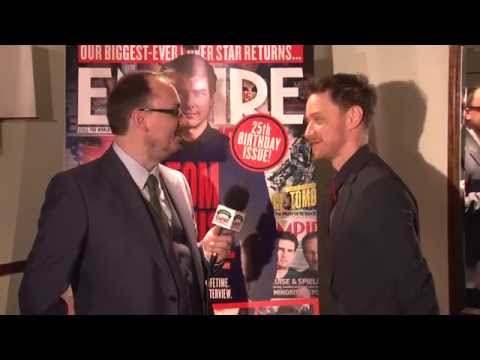 Jameson Empire Awards 2014 - Post-Win Interviews: James McAvoy