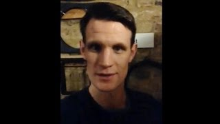 A Message from Matt Smith: The National Television Awards 2014 - Doctor Who - BBC