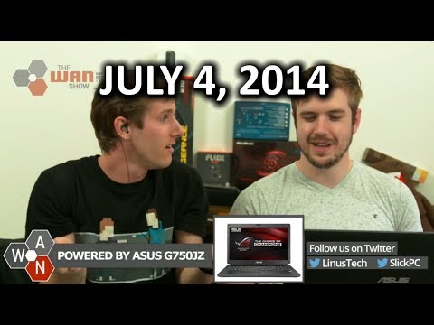The WAN Show: Samsung's 850 Pro 3D NAND SSD & NSA Sucks Again - July 4th, 2014