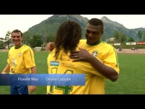 Marcel Desailly et Christian Karembeu ont affronté une sélection FC Sion 1997