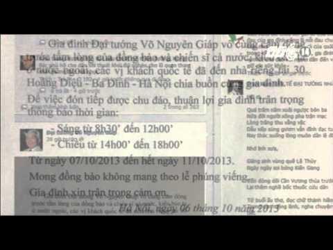 VTC14_Trang Facebook chính thức về Đại tướng Võ Nguyên Giáp