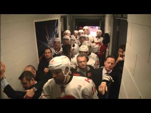 "John Tortorella Vs Calgary Flames ""Gong-Show"" January 18th 2014 HD"