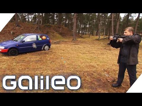 Kann man schusssichere Autos nachbauen? Galileo Experimente | Galileo | ProSieben
