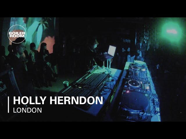 Holly Herndon Boiler Room London LIVE Show