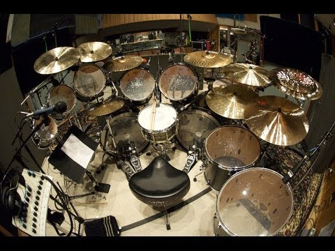 NEW Monster Drum Kit Tour And Sound Demo! - 14 Year Old Drummer -Vincent Greeson