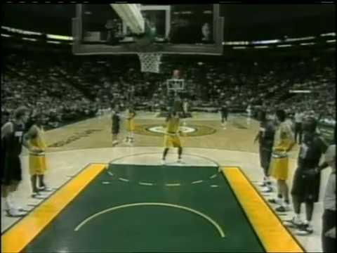 Dallas Mavericks @ Seattle Supersonic (27.1.2004)