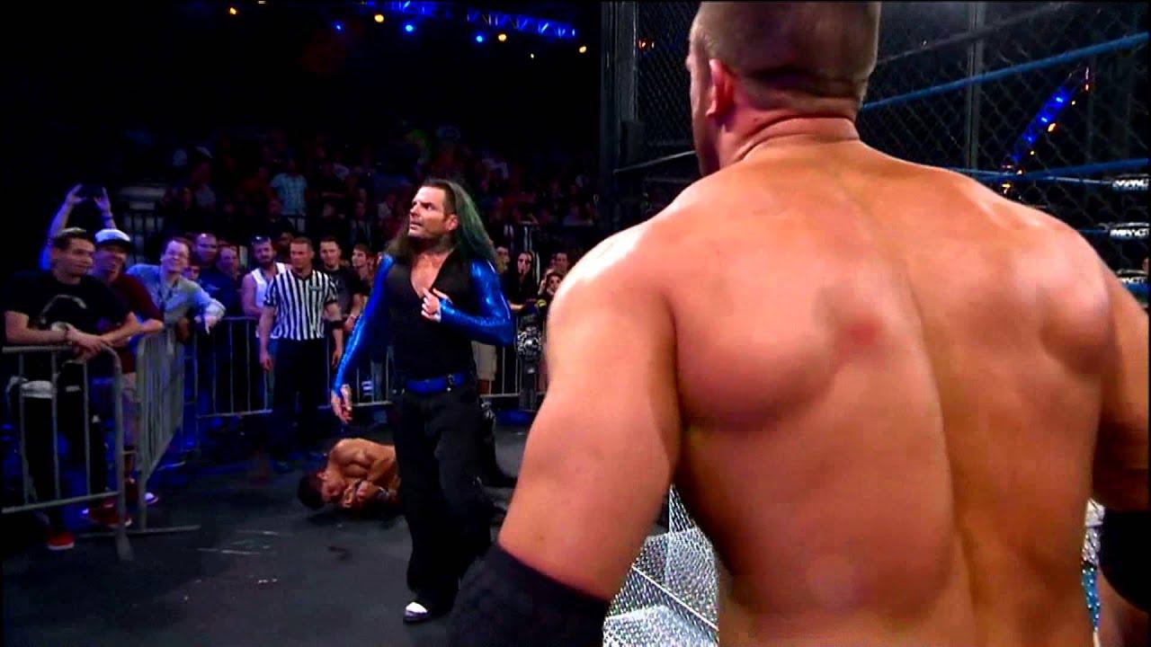 Jeff Hardy vs. Magnus for the World Heavyweight Championship (December ...