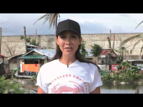 Philippines: a special message from Myleene Klass