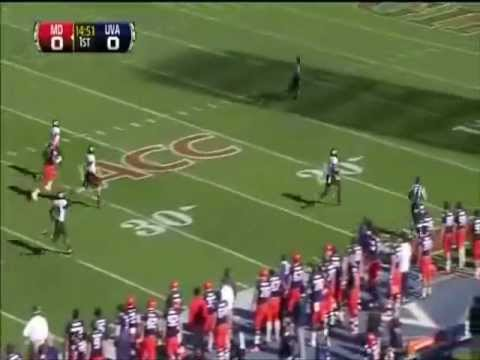 Freshman All-American Stefon Diggs 2012 Highlights