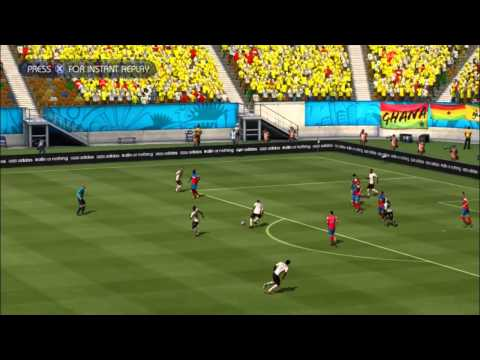GHANA - USA | FIFA World Cup 2014 (All Goals Highlights HD)