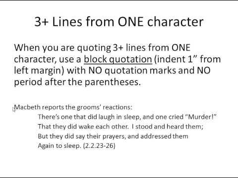 how to cite a tv show mla