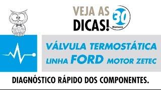 DICA MTE 30 – Válvula Termostática Linha Ford (Motor Zetec)