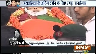 Jayalalithaa, a Practicing Brahmin, to be Buried and not C..