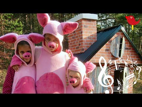 Tri ružové prasiatka - Pesničky líšky a vlka