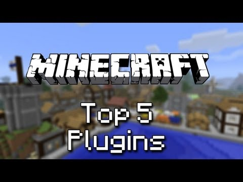 Top 5 Minecraft : Plugins (Craftbukkit 1.5)