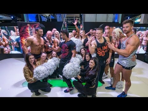 THE BIGGEST STARS GUARANTEE BEST SHOW IN ONE PLACE - FIBO POWER 2014