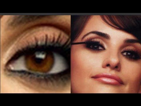 Delinea y Sombrea tus Ojos como Penelope Cruz / Penelope Cruz Look