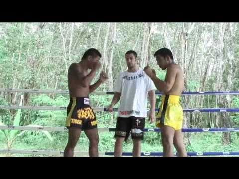 Beginners Muay Thai Instructional: The Muay Thai swinging elbow @ Tiger Muay Thai