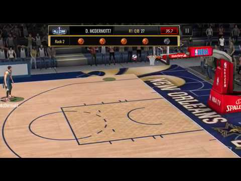 NBA Live Mobile QJB 3 Point Contest