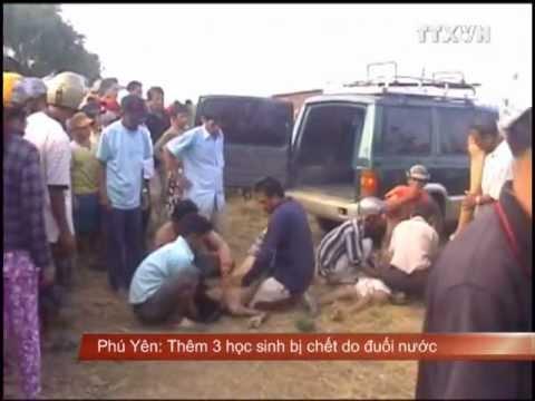 Ba học sinh bị chết do đuối nước tại Phú Yên