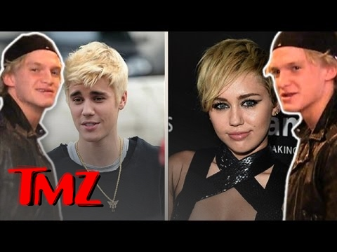 Cody Simpson: Did Justin Bieber Copy Miley's Hairstyle