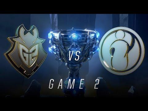 G2 vs IG | Semifinal Game 2 | World Championship | G2 Esports vs Invictus Gaming (2018)