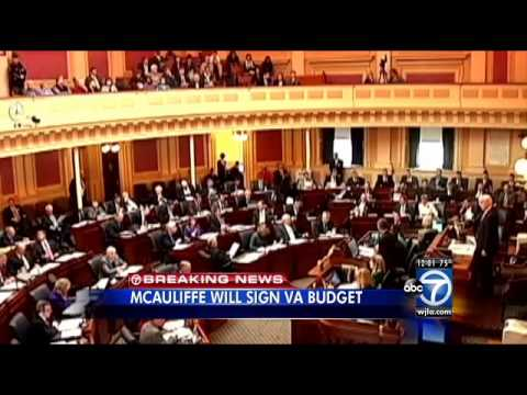 Virginia Gov. Terry McAuliffe announces several line-item vetoes in budget, could have several more