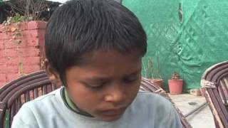 Amazing Interview in India with a boy from streets..
