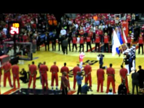 Anthem - Chicago Bulls @ Washington Wizards - Playoffs 2014