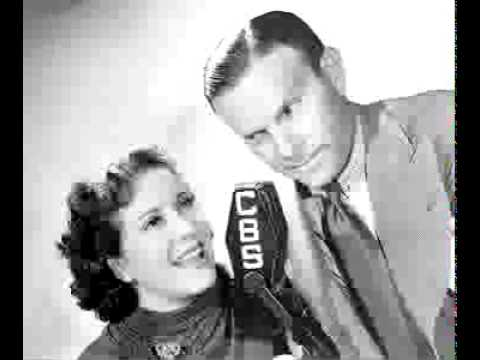 Burns & Allen radio show 6/6/44 Kansas City's Favorite Singer