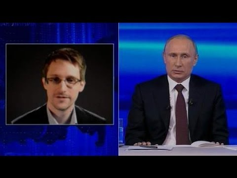 Vladimir Putin Assures Edward Snowden Russia Does Not Spy On All Citizens