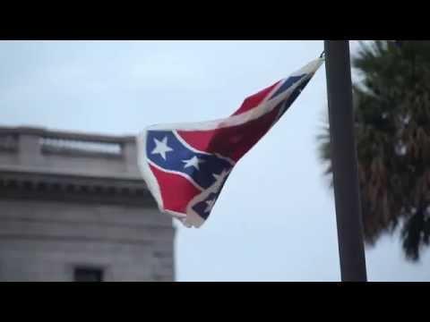 #KeepItDown Confederate Flag Takedown