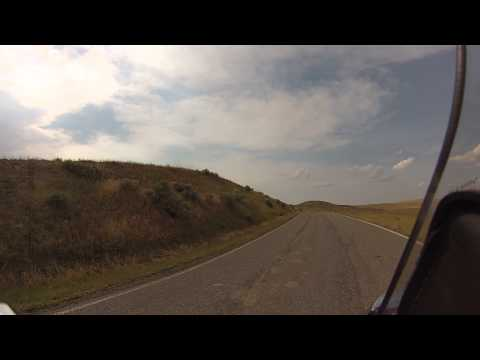 Biker Lawyer Rides the Little Bighorn National Battlefield Part 1 of 2
